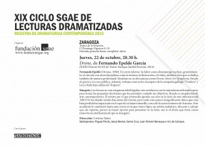 Lecturas 22 Drone Zaragoza actores