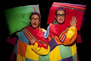 Esscena de la obra Se alquila Sofa-Cama representada en el Teatro de la Estación