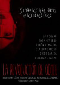 La Revolucion de Odile - cartel