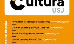 <i>29 de abril (19h) </i></br><b>Jueves de Poesía </b><br>Cultura USJ <br>POESÍA