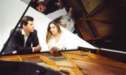 <i> 14 de mayo </i><br><b> Piano a cuatro manos <br></b>Antón y Maite Piano Dúo <br> CONCIERTO-MÚSICA CLÁSICA