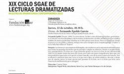 <i>22 de octubre</i> <br> <b>Drone </b><br>XIX Ciclo SGAE de lecturas dramatizadas