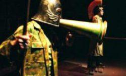 <i>Del 14 al 17 de marzo</i> <br> <b>De donde nace la farsa</b><br> Tranvía Teatro <br>TEATRO DE CERCA